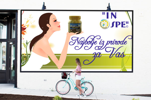 Wall and window posters for IN SPE