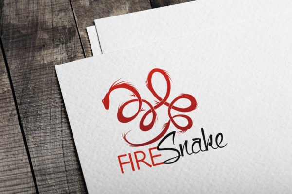 Fire Snake logo design
