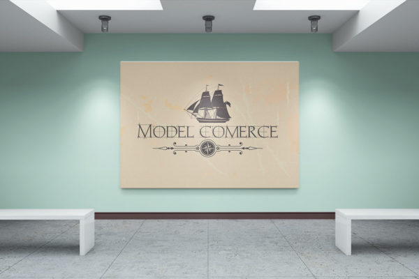 Model Commerce logo design