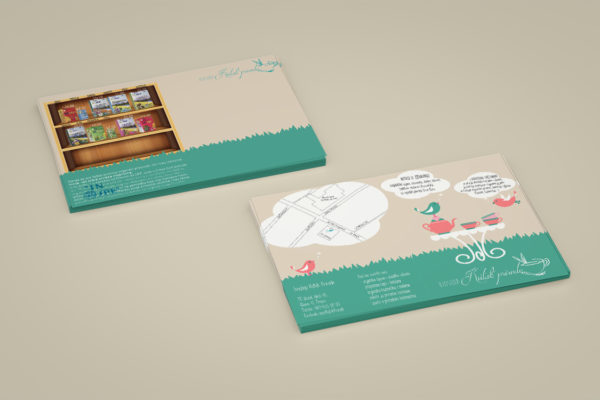 Flyers designed for bioshop Kutak Prirode